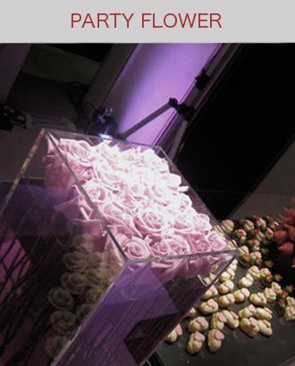 パーティーのお花,パーティー装飾
